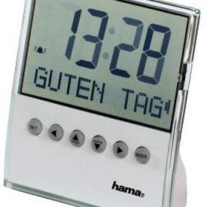 Часовник/будилник с кратко съобщение на екрана за поздрав HAMA 104955