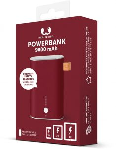Външна батерия Fresh 'n Rebel Powerbank 9000mAh Ruby