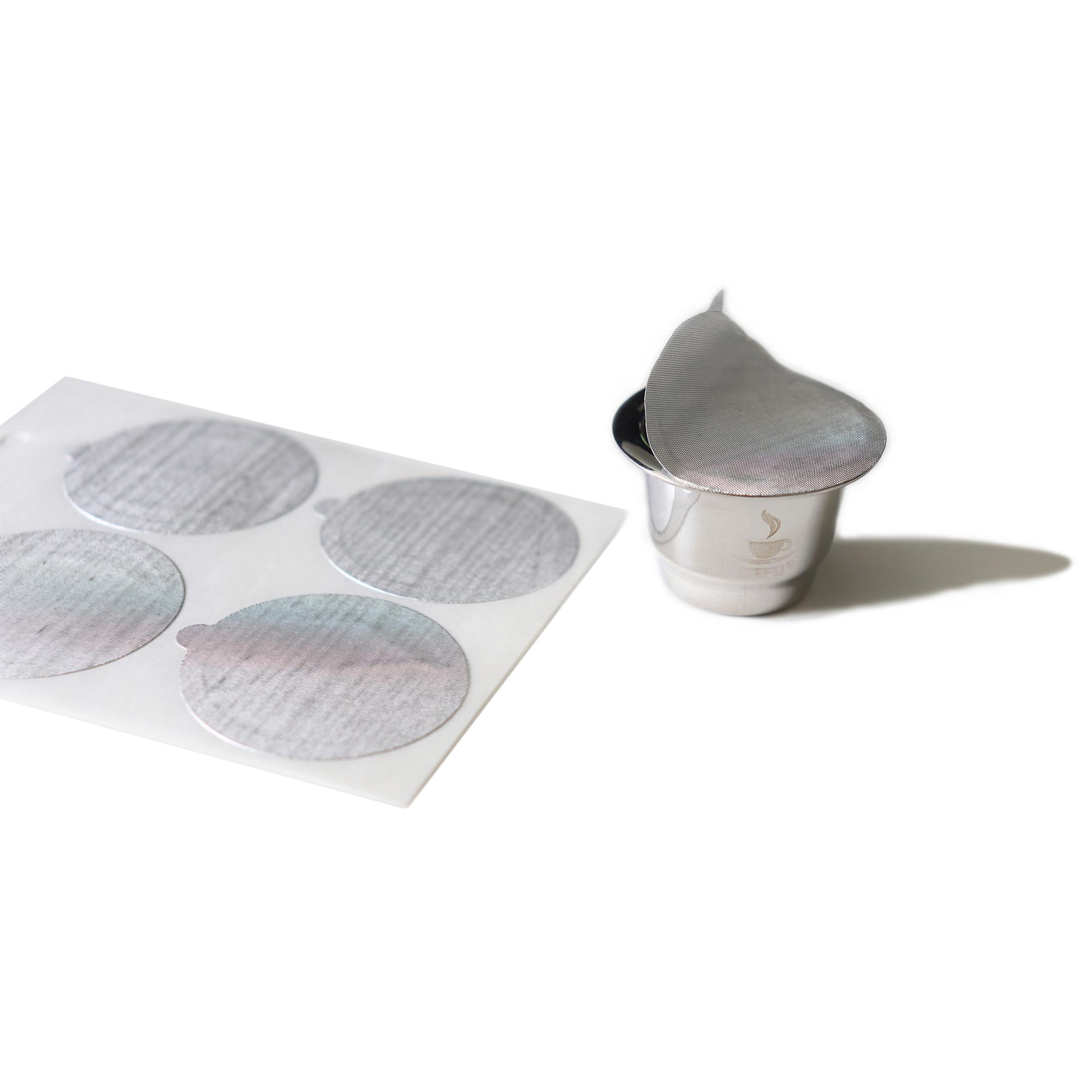 GEFU Резервни стикери за многократни кафе капсули CONSCIO