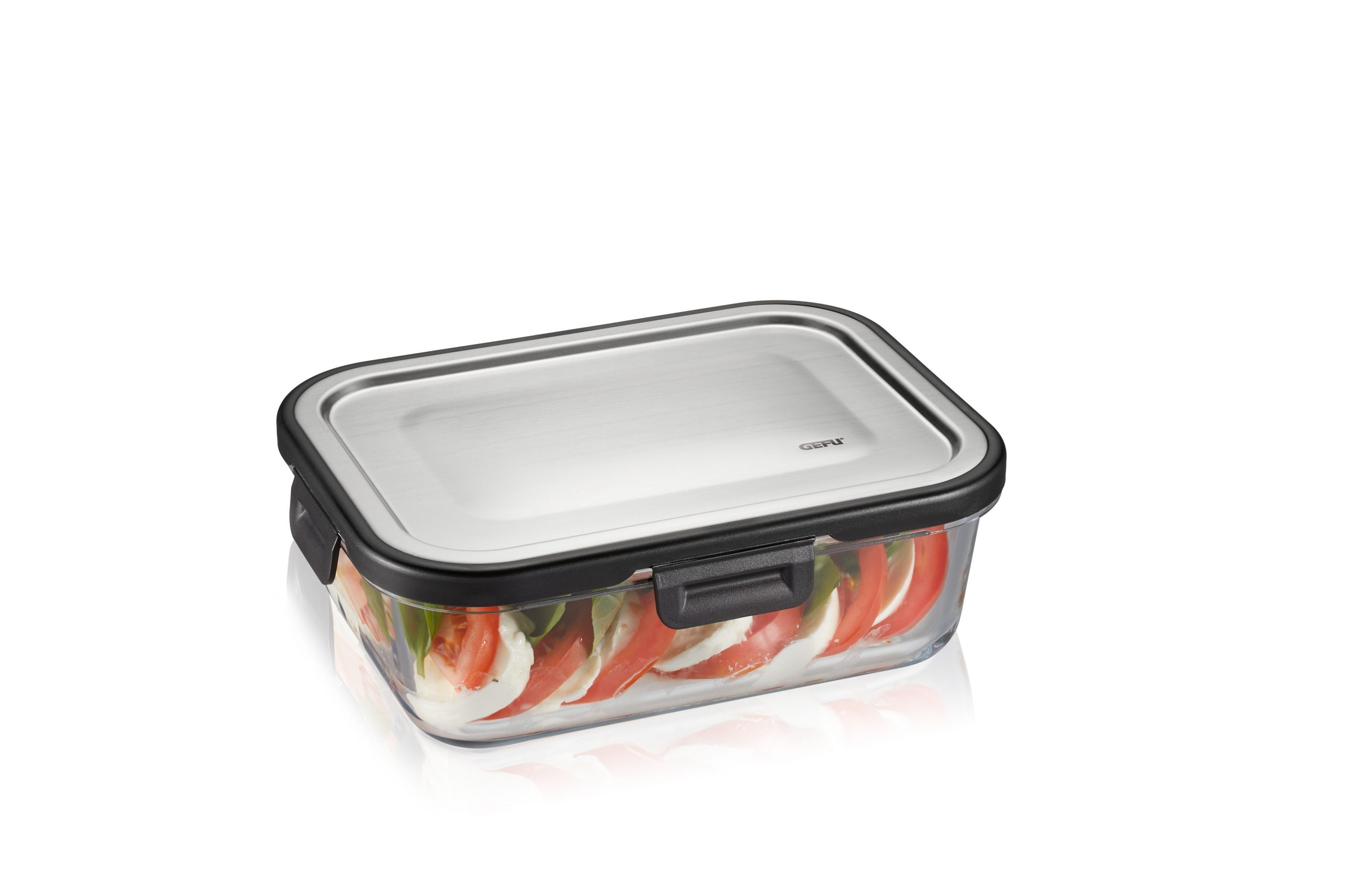 """GEFU Стъклена кутия за храна """"MILO""""- 1 л."""