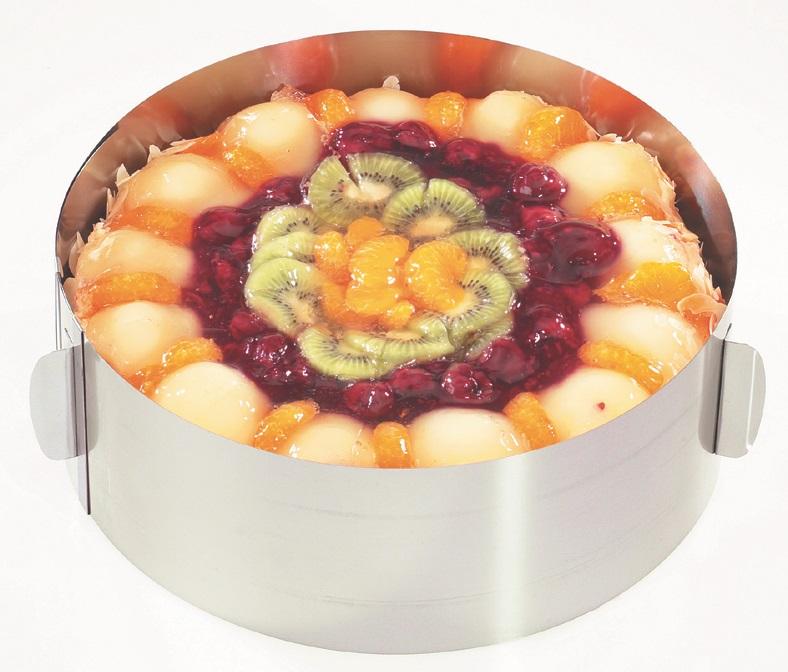 GEFU Кръгла форма за торта с регулиране TONDO - Ø16 - Ø32 см. - h - 8