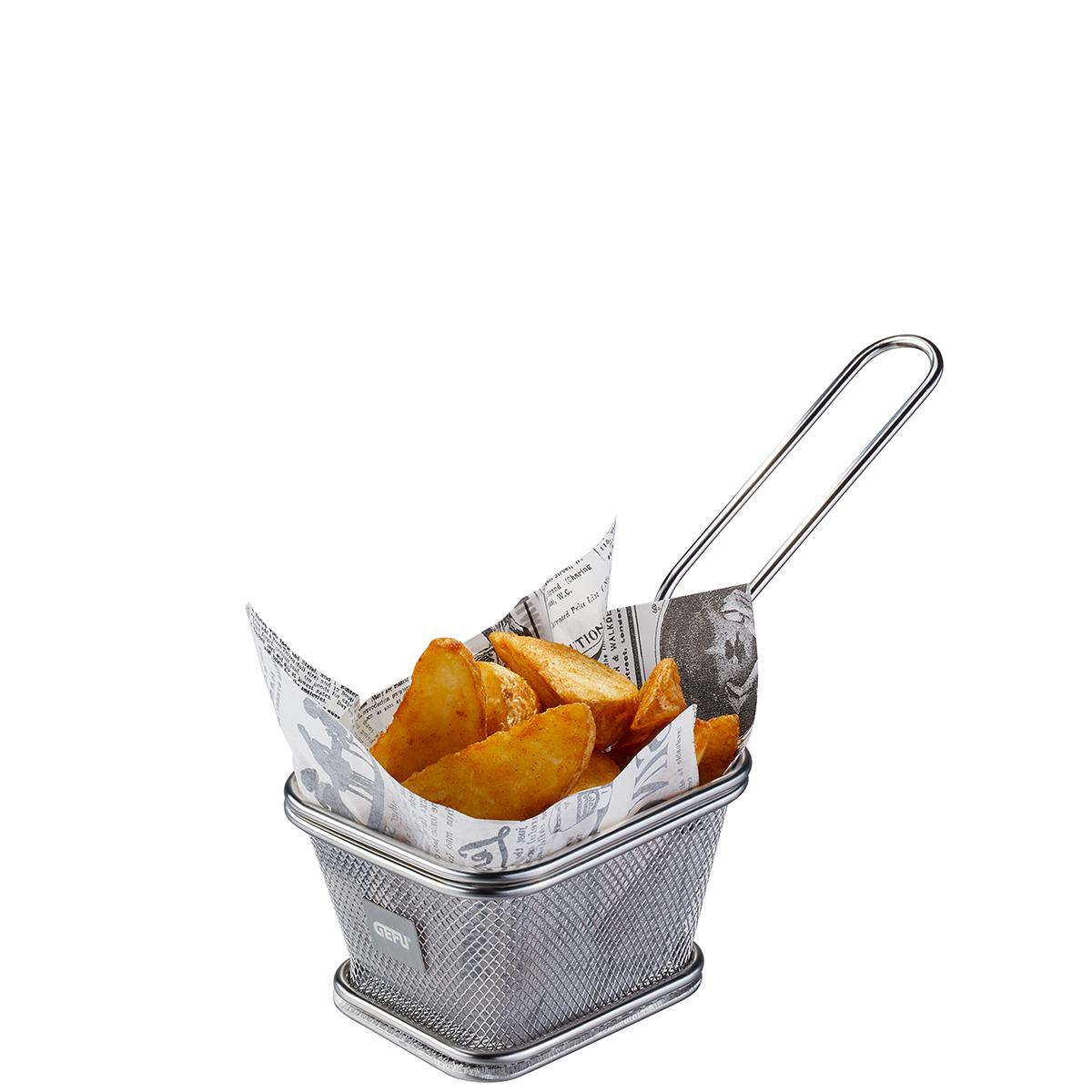 """GEFU Кошница за сервиране на пържени картофи """"BBQ"""" - малка"""